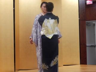 Performing a Kimono wrap