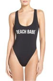 Beach Babe One-Piece $58