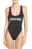 Beach Babe One-Piece $58