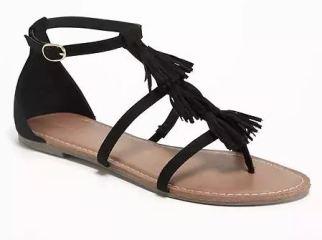 Forever 21 Tassel Sandals $27